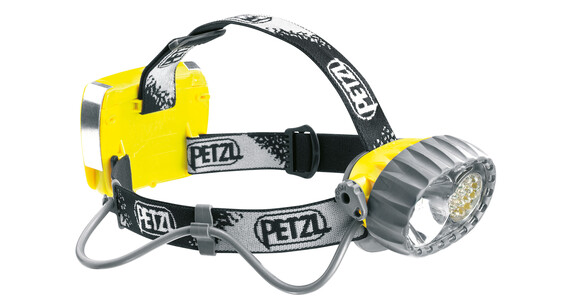 Petzl Duo Led 14 - Linterna frontal - amarillo/negro